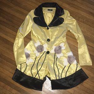 Anthropologie Ryu 🌿 sateen coat dress